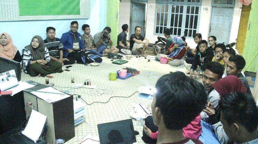 Sosialisasi dan Sharing Hearing dengan Karang Taruna Tlonto Raja
