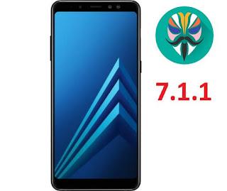 طريقة عمل روت لجهاز Galaxy A8 2018 Plus SM-A730F اصدار 7.1.1