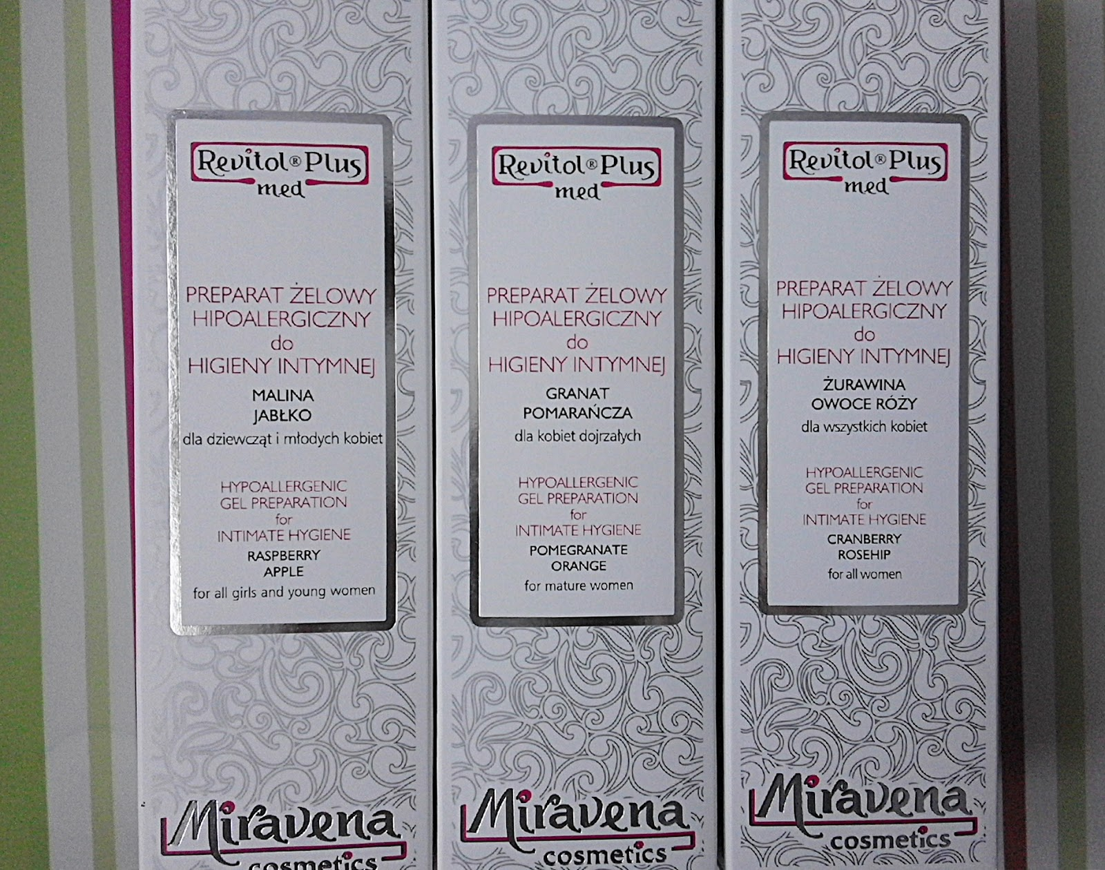 Miravena cosmetics preparaty do higieny intymnej
