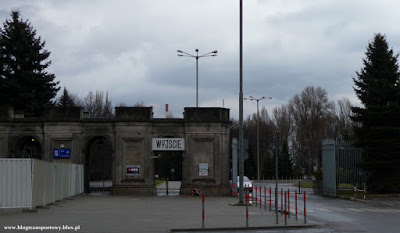 ArcelorMittal Poland Oddział w Krakowie - główna brama