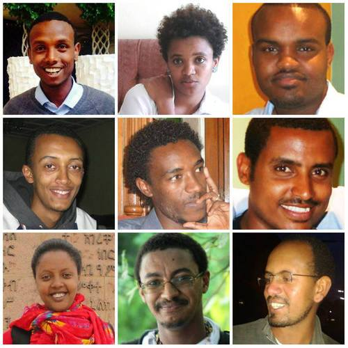 ethiopian journalists jailed released