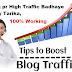 Blog par traffic kaise badhaye tarika   Increase High Traffic on Blog Hindi