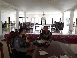 Kasat Binmas Polres Pangkep Silaturahmi ke Pimpinan Muhammadiyah Kab.Pangkep