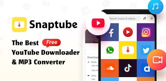 مع تطبيق سناب تيوب Snaptube يمكنك تحميل الفيديوهات و الموسيقى من أي موقع تريد