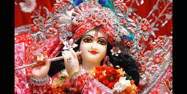 Krishna Karu Aarti Bhajan Lyrics in Hindi