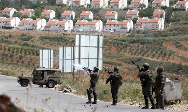 Fuerzas de Defensa de Israel en Puesto de control