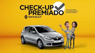 Promoção Renault Check-Up Premiado 2017