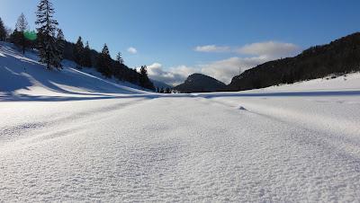 Jura-Schneelandschaft