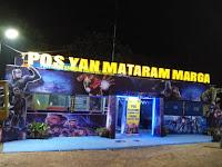 Kece, Pos Pelayan Lebaran 2019 Ala Sat Lantas Lampung Timur
