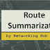 What is Route Summarization: