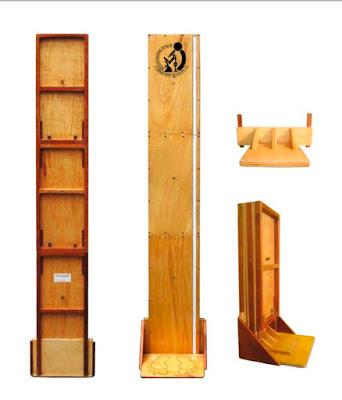 Tallimetro madera portatil sin Mochila pediátrico adultos STOCK peru