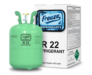 R-22 refrigerant gas