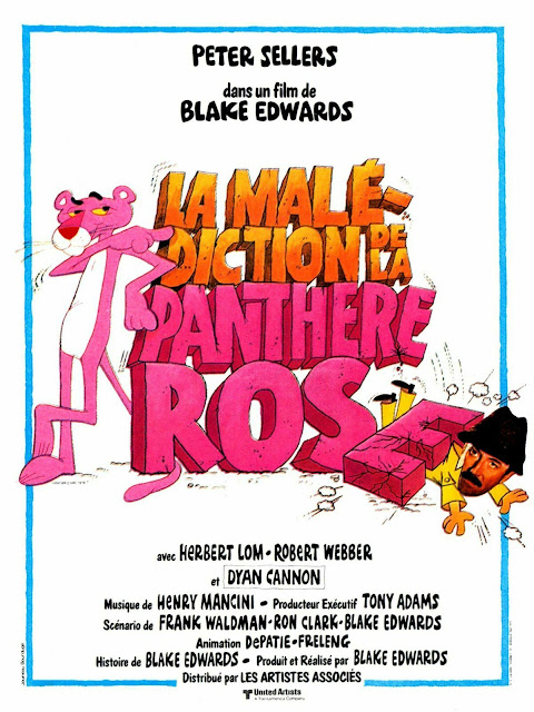 Poster movie Pink Panther - collector
