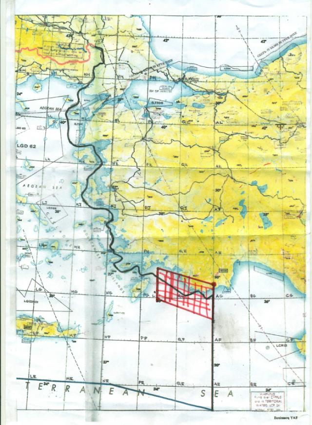 Επιθετική τουρκική στρατιωτική ενέργεια στη Μεγίστη