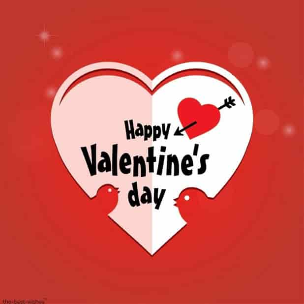 valentine day wishes status