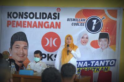 Irna Puji Militansi Kader dan Simpatisan PKS Pandeglang