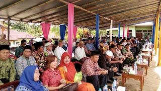 Bupati Sekadau Rupinus Resmikan Masjid Nurul Hidayah Kec. Ng. Mahap
