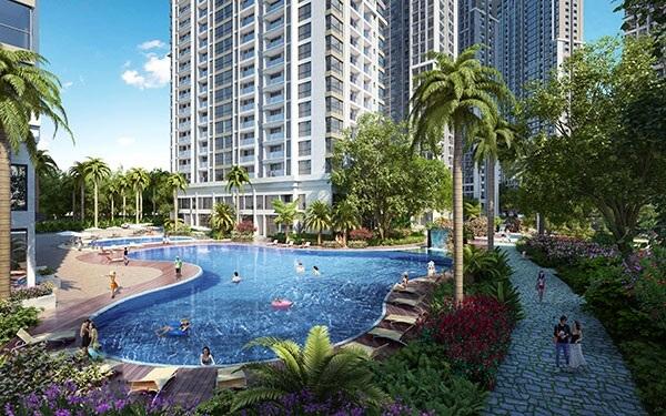 Ecocity Long Biên có thiết kế cảnh quan siêu đẹp.