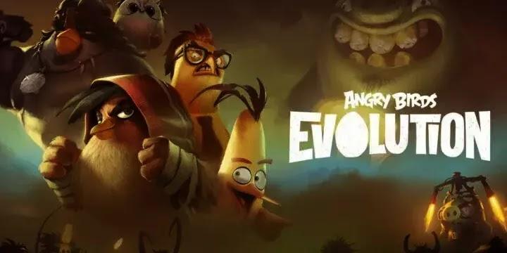نقدم لكم عن Angry Birds Evolution هي لعبة تقمص أدوار قائمة على الأدوار
