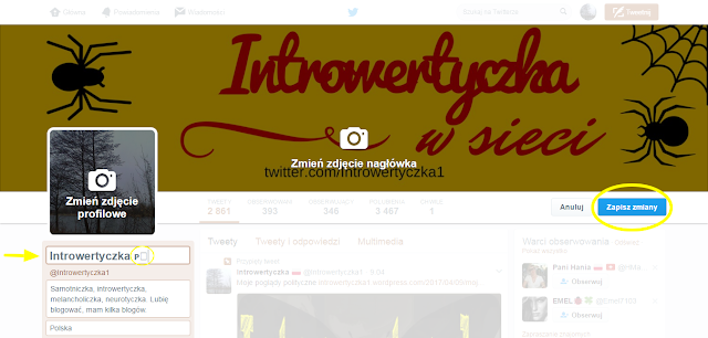 Jak wstawić flagę na profil Twittera?