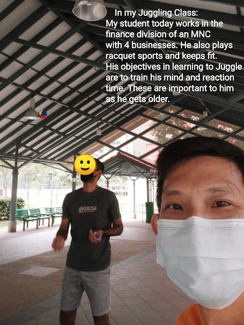 Juggling lessons in Singapore