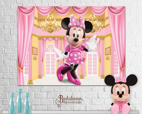 Minnie, painel Minnie, arte, arte digital, arte personalizada, paine, arte painel