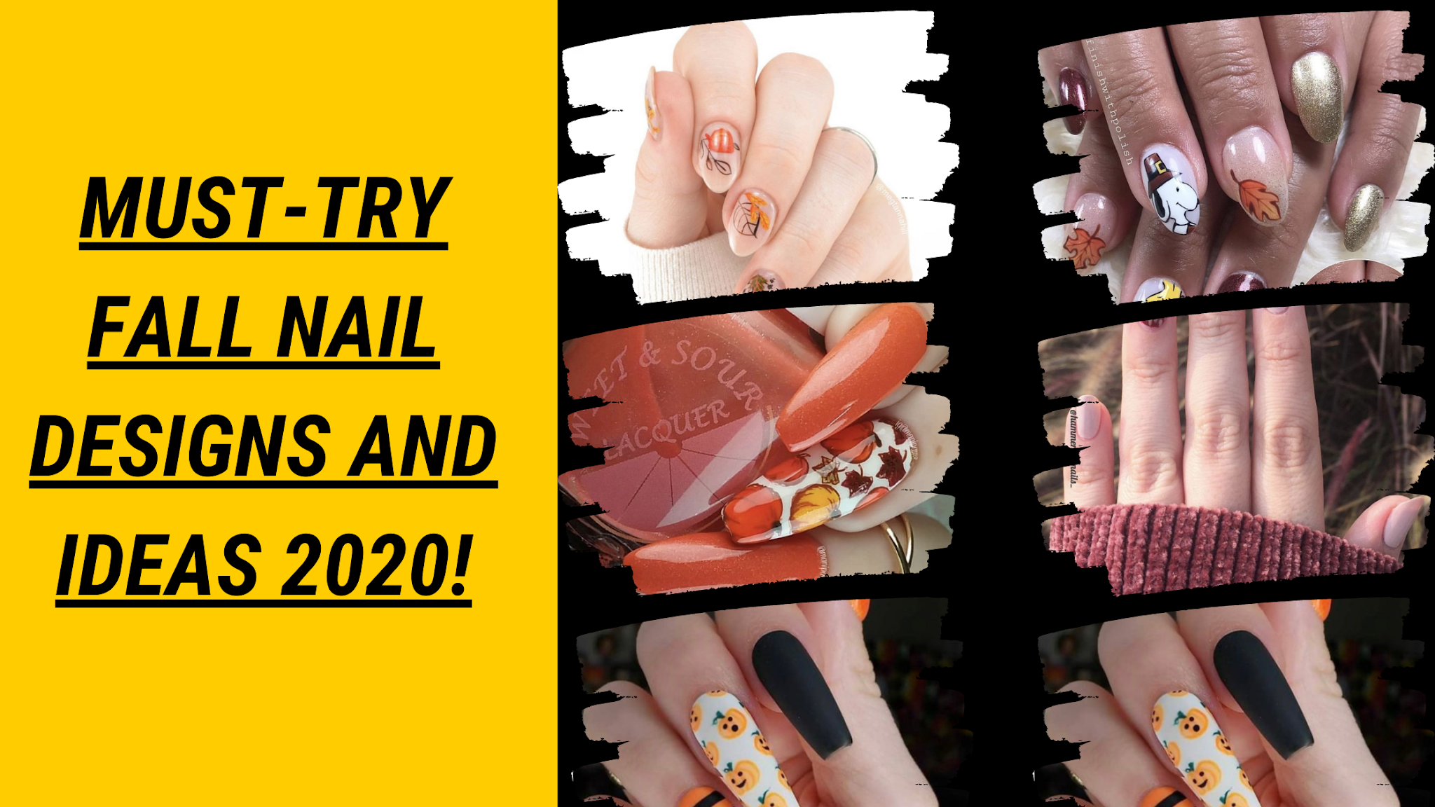 Must-Try Fall Nail Designs And Ideas 2020!