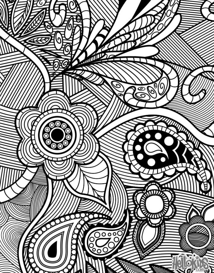Coloring Books For Adults As A Form Of Stress Relief Therapy