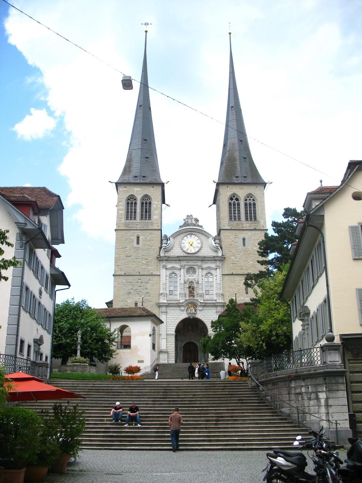 Hofkirche St Leodegar - Luzern