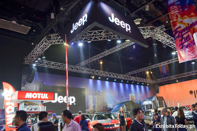 Jeep Tradeshow Display