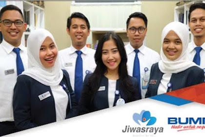 Lowongan Kerja BUMN Terbaru PT. Asuransi Jiwasraya Tingkat SMA/Sederajat November 2019