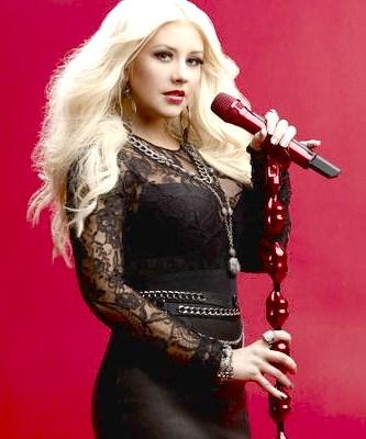 Foto de Christina Aguilera parada