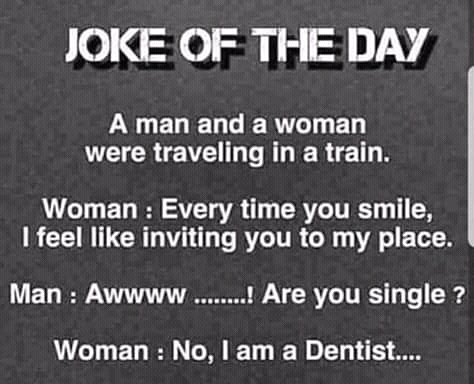 Joke of The Day: A Smart Way To Laugh