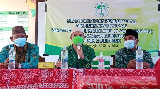 Ketua Korwil IV Pergunu Bali, NTB, NTT, Pergunu Mampu Mentransformasikan Nilai Akhlak Annahdiyah Di Masyarakat Saat Pembentukan PAC Pergunu Kec. Buleleng