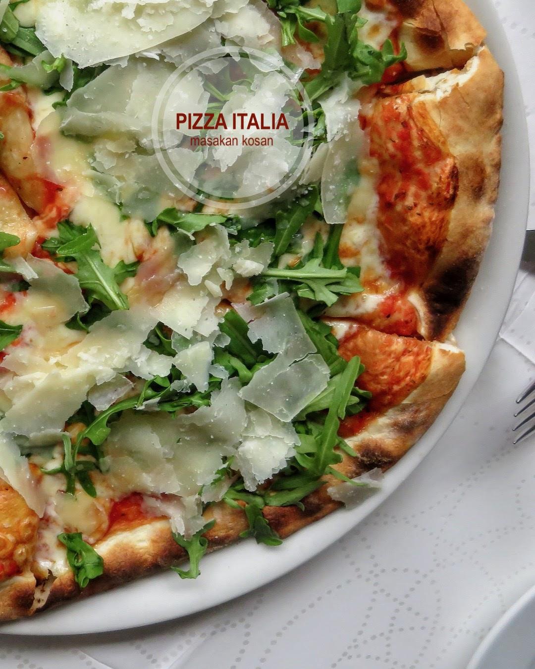 Resep anak kos Pizza Asli Dari Italia
