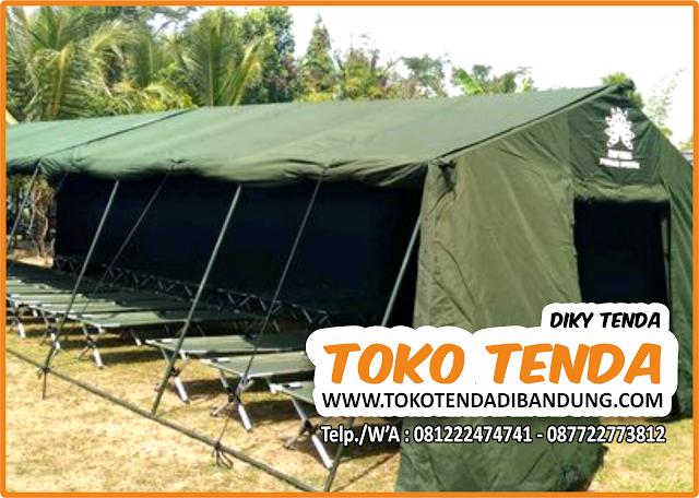 Tenda - Serbaguna - Pengungsi - TNI