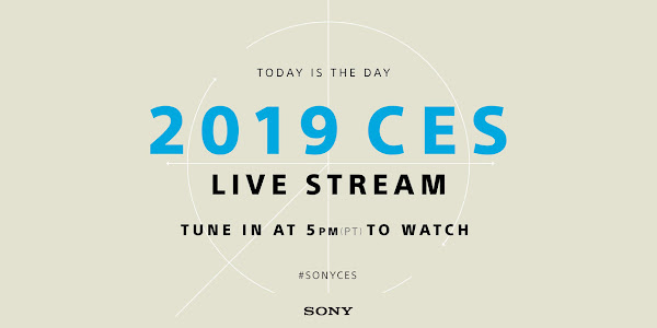 Watch Sony CES 2019 press conference livestream