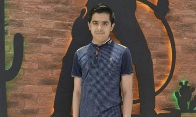 hunain bilal - a matric class student