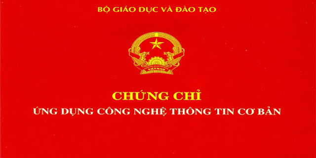 Học thi chứng chỉ ứng dụng công nghệ thông tin tại Biên Hòa