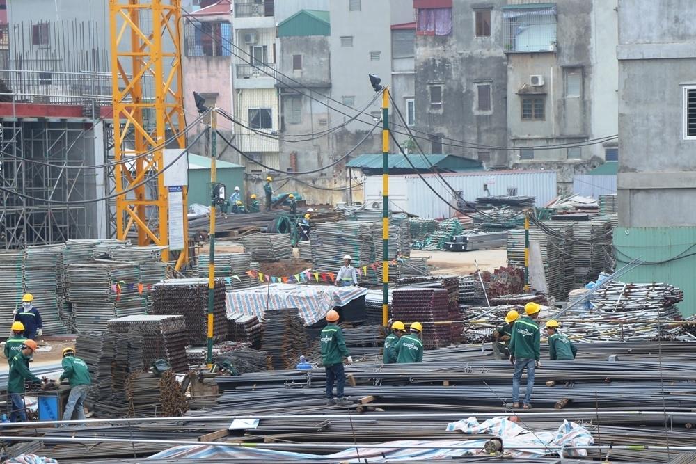 Tiến độ thi công dự án TNR Holdings Trần Hưng Đạo