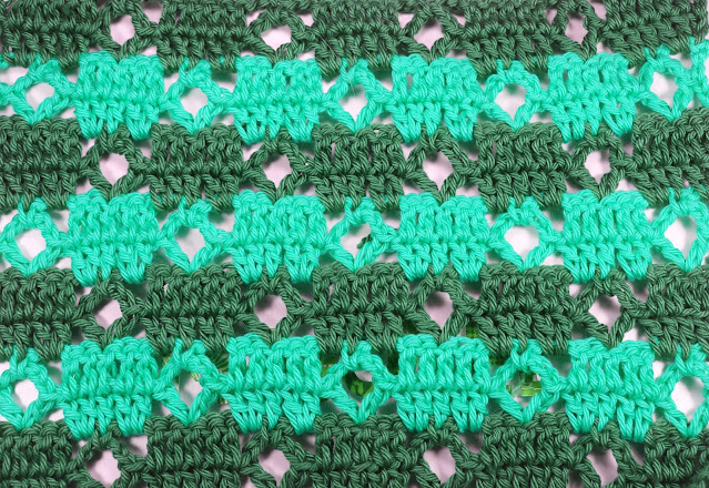 5 - Crochet Puntada de cuadrados a crochet y ganchillo Majovel Crocher baretas paso a paso doble facil sencillo