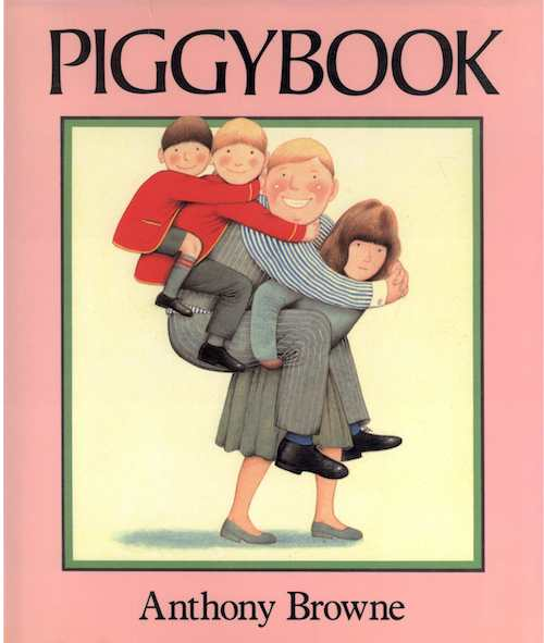Piggybook by Anthony Browne book review. Follow-up activities for first grade. #piggybook #anthonybrowne #booksforkids #gradeonederful