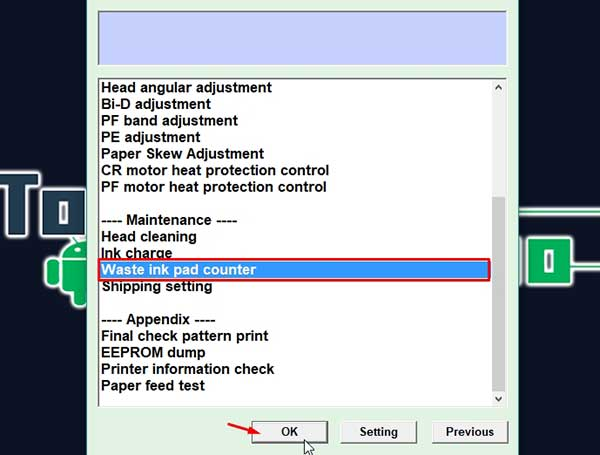 reset epson xp 211 adjustment program