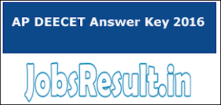 AP DEECET Answer Key 2016
