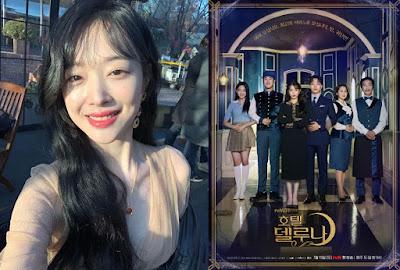 """Sulli Akan Tampil Di Drama """"Hotel Dek Luna"""" Sebagai Cameo Di Episode 10"""