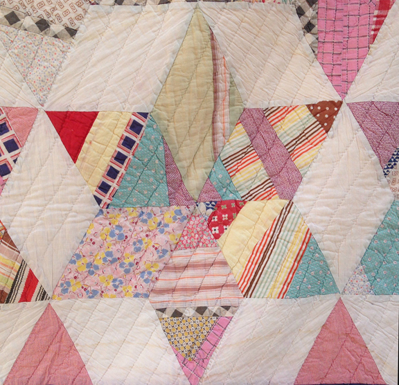 Cloud Of Quilt Patterns Not Square Blocks Diamond Shaped