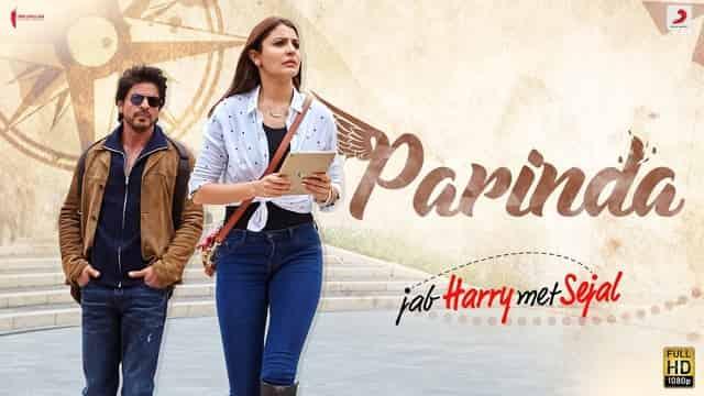 परिंदा Parinda Lyrics In Hindi - Jab Harry Met Sejal