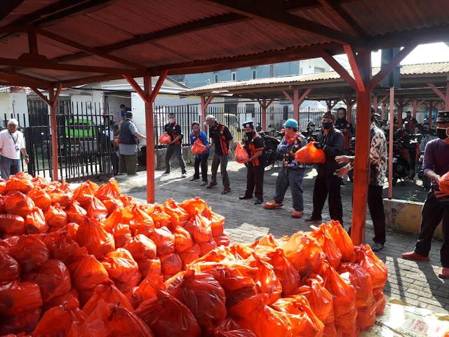 Bantuan Ribuan Paket Sembako Diterima Paguyuban Jawa Tengah