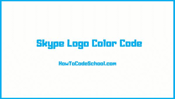 Skype Logo Color Code