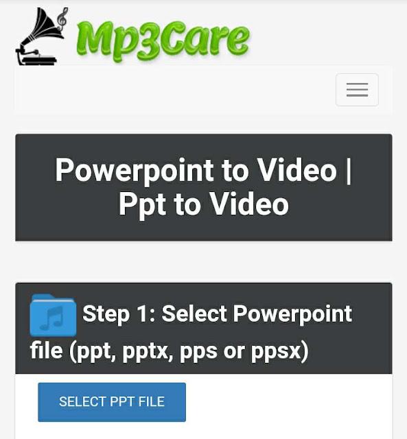 PPT menjadi Video
